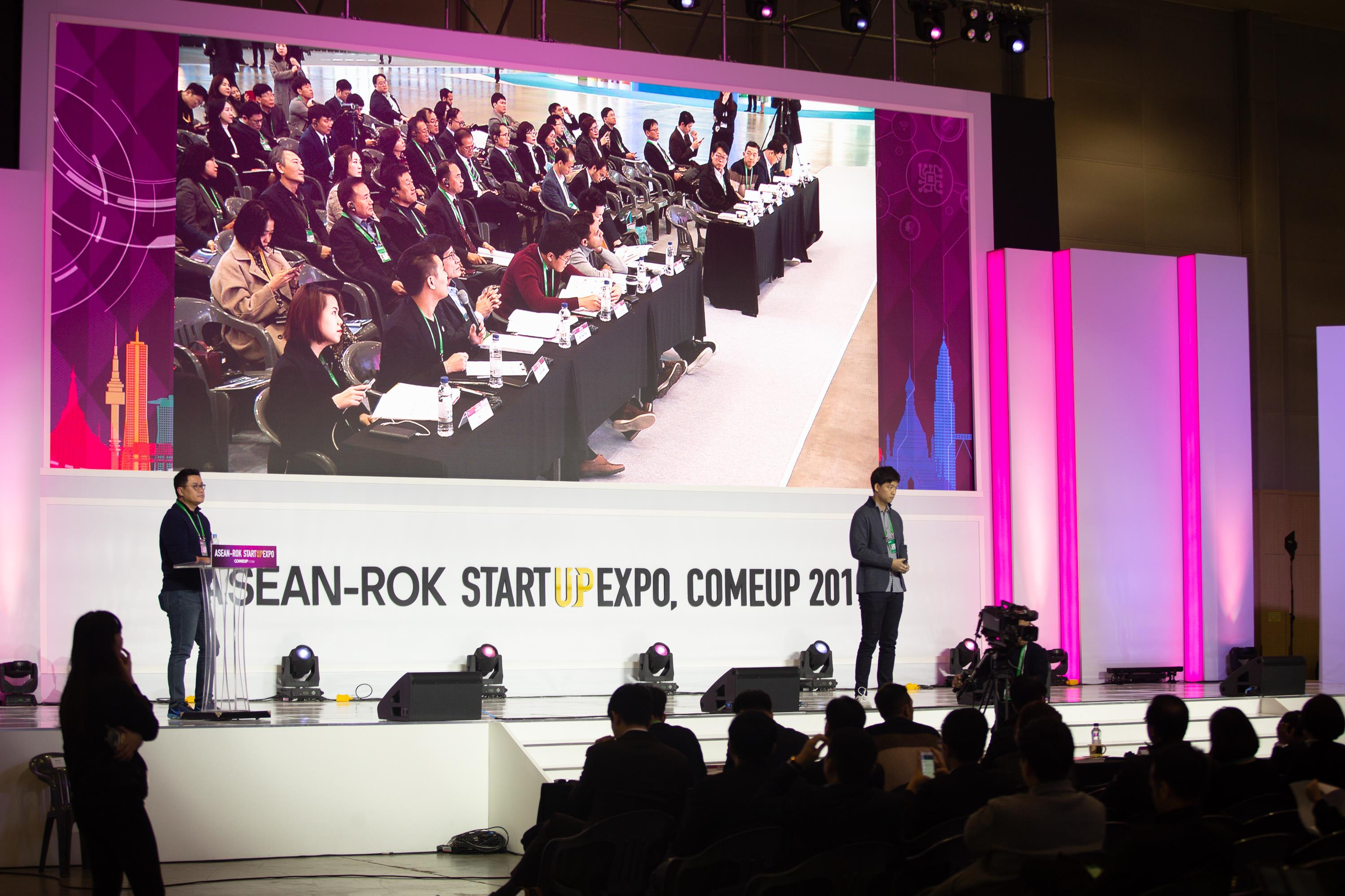 ASEAN-ROK Startup Expo, Come up 2019 PHOTO